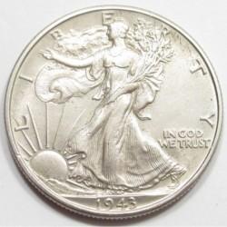 half dollar 1943