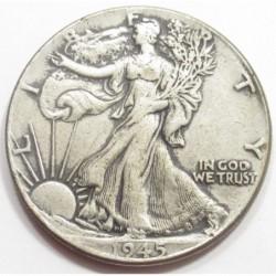 half dollar 1945