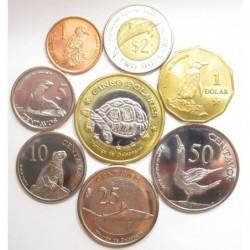 Galapagos coin set 2008
