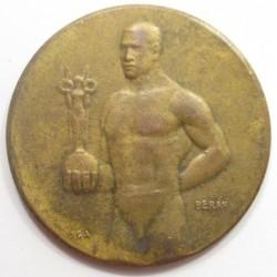 Lajos Berán: Hungarian Table Tennis Association III. placed award 1931