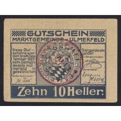10 heller 1920 - Ulmerfeld