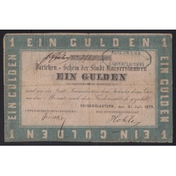 1 gulden 1870 - Kaiserslautern