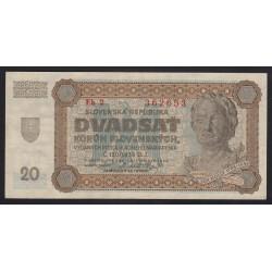 20 korun 1942