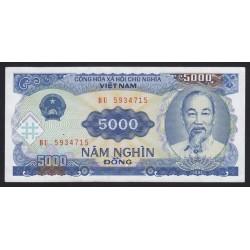 5000 dong 1991