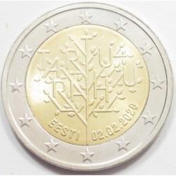 2 euro 2020 - Centenary of the Tartu Peace Treaty