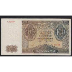 100 zlotych 1941