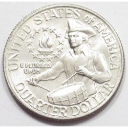 quarter dollar 1976 - 200th anniversary of the the United States declaration of independence