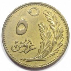 5 kurus 1922