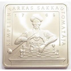 500 forint 2002 - Farkas Kempelen's chess machine