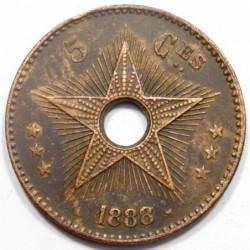 5 centimes 1888