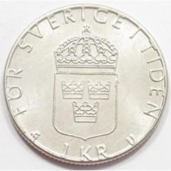 1 krona 1978 U