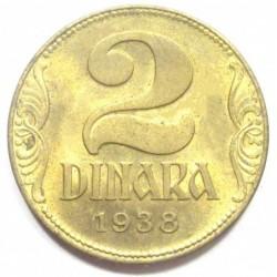2 dinara 1938