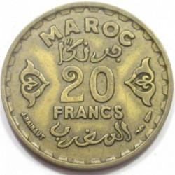 20 francs 1952