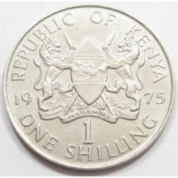 1 shilling 1975