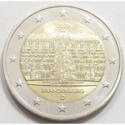 2 euro 2020 F - Brandenburg