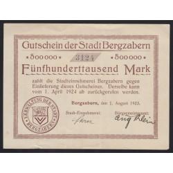 500000 mark 1924 - Bergzabern