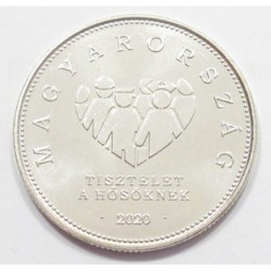10 forint 2020 - Respect for the heroes