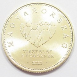 20 forint 2020 - Respect for the heroes