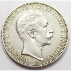 3 mark 1909 A - Prussia