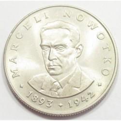 20 zlotych 1975 - Marceli Nowotko