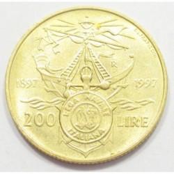 200 lire 1997 - Italian Naval League