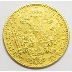 Franz Joseph 1 ducat 1904