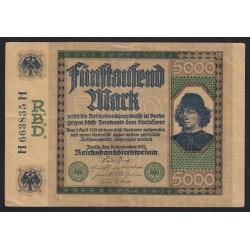 5000 mark 1922
