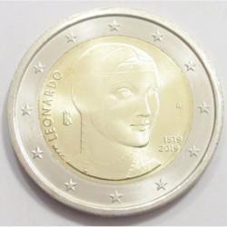 2 euro 2019 - Leonardo da Vinci