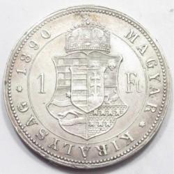 1 forint 1890