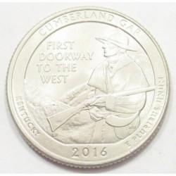 quarter dollar 2016 P - Cumberland Gap