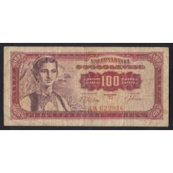 100 dinara 1963