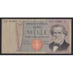 1000 lire 1969