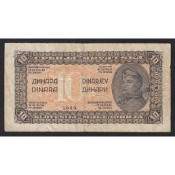 10 dinara 1944