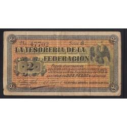 2 pesos 1914