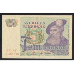 5 kronor 1981