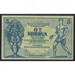5 korona 1919 - Thick paper
