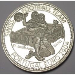 5 dollars 2004 PP -Swiss National Football Team