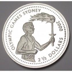 2 1/2 dollars 1999 PP - Sydney Olympics