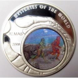 500 tugrik 2008 - Mysteries of the World - Almas