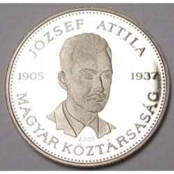 10 forint 2005 PP - József Attila