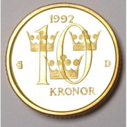 10 kronor 1992 D PP