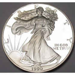 American Silver Eagle dollar 1990 S PP