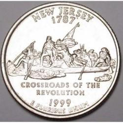 quarter dollar 1999 D - New Jersey