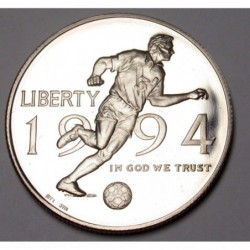 half dollar 1994 P PP - Soccer World Cup
