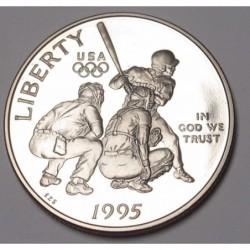 half dollar 1995 S PP - Atlanta Olympics - Baseball