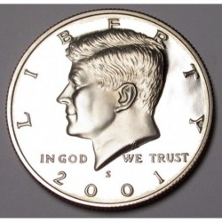 half dollar 2001 S PP