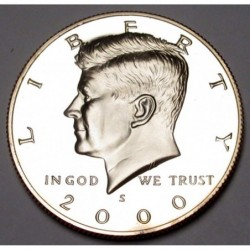 half dollar 2000 S PP
