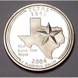 quarter dollar 2004 S PP - Texas