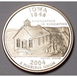 quarter dollar 2004 S PP - Iowa