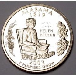 quarter dollar 2003 S PP - Alabama